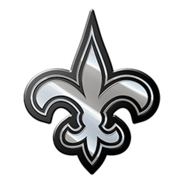 New Orleans Saints NFL Metal Auto Emblem