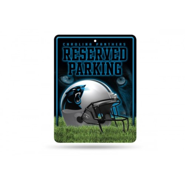 NFL Carolina Panthers High-Res Metal Parking Sign