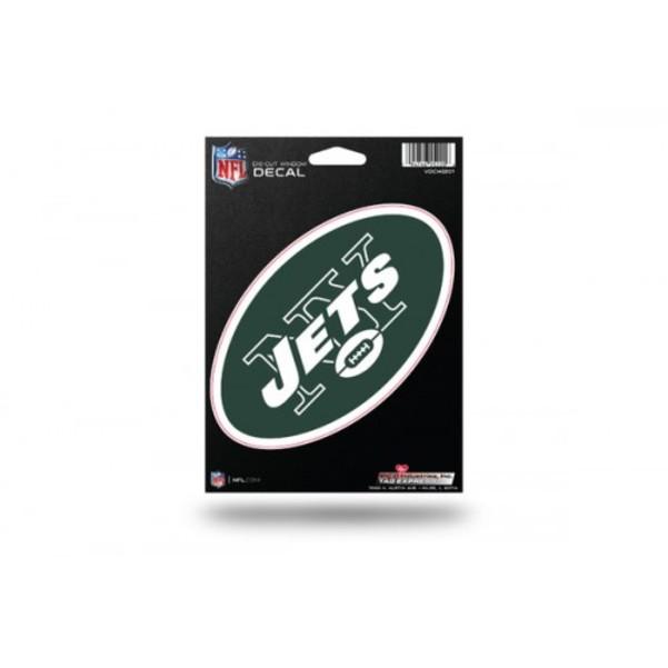 ''NFL New York Jets 5'''' x 6'''' Die-Cut Decal''