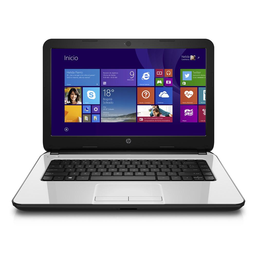 Hp notebook laptop windows 8 - Hp 14 R018la 14 Notebook Intel I3 4005u 1 7ghz 8gb 750gb Windows 8 1 Pro Refurb4less
