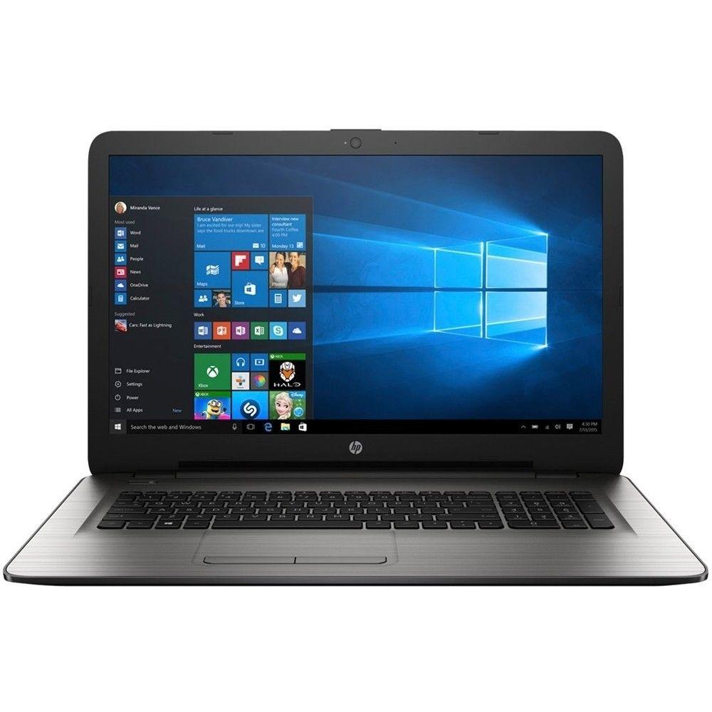 hp 17 x037cl 17 3 laptop intel core i3 5005u 2 0ghz 8gb 1tb windows 10 ebay. Black Bedroom Furniture Sets. Home Design Ideas