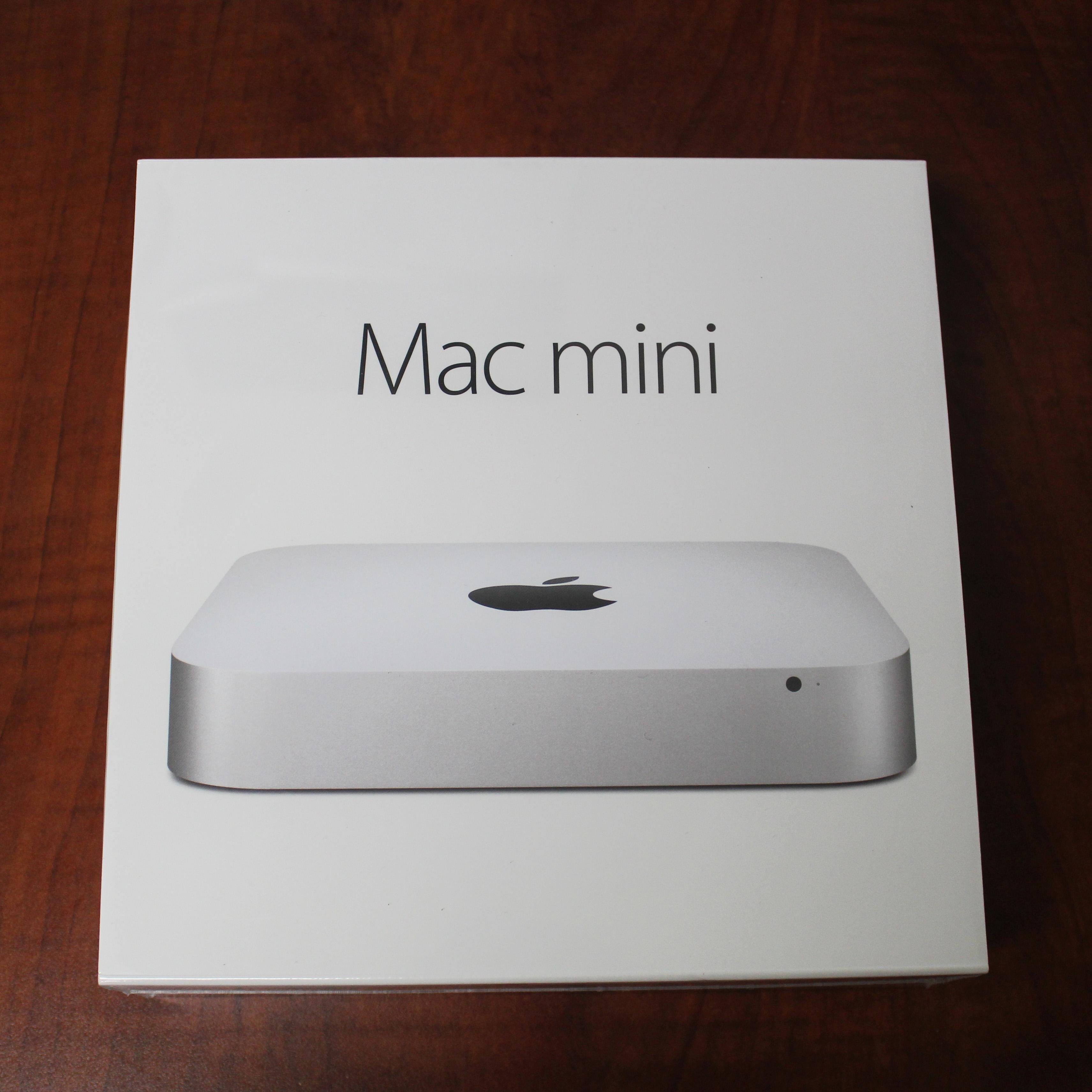 Apple Mac Mini Mgen2ll A Desktop Intel I5 4278u 26ghz 8gb 1tb Os X Mgem2 Yosemite Refurb4less