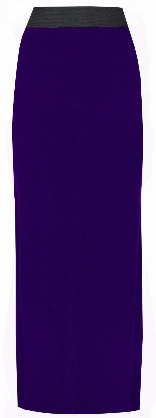 New-Ladies-Plus-Size-Stretch-Gypsy-Maxi-Skirt-Womens-Long-Boho-Dress-Size-8-20