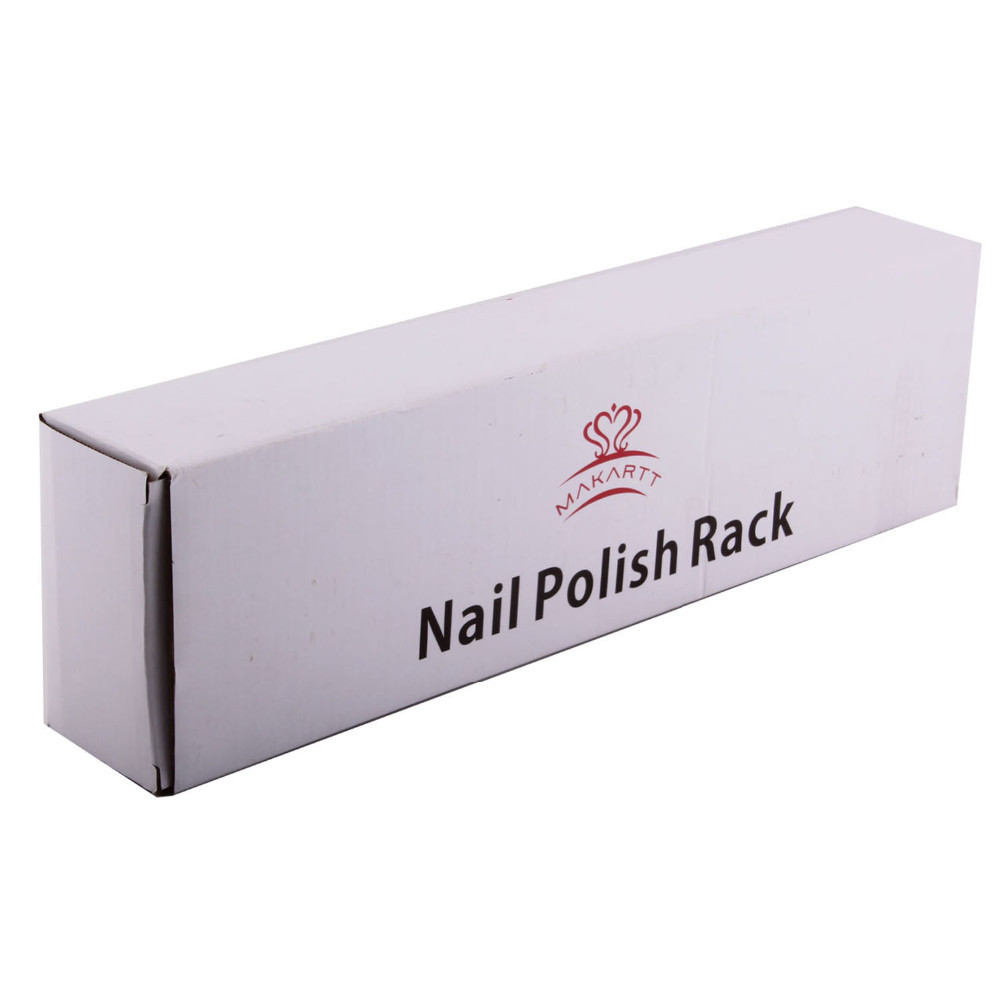 Nail Polish Racks Nail Polish Holder 3 Tier Wall Mount