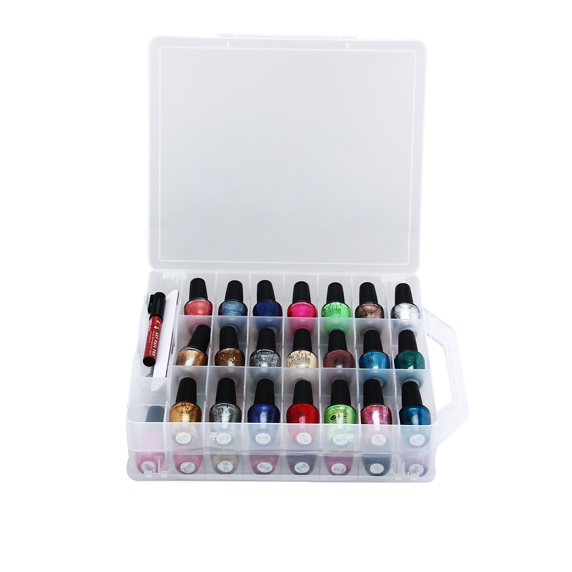 MAKARTT Nail Polish Holder Organizers For 48 Bottles