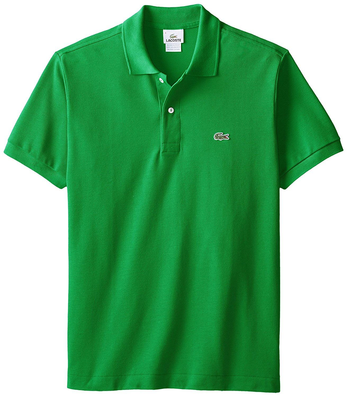 Lacoste short sleeve classic pique polo ebay for Lacoste polo shirts ebay
