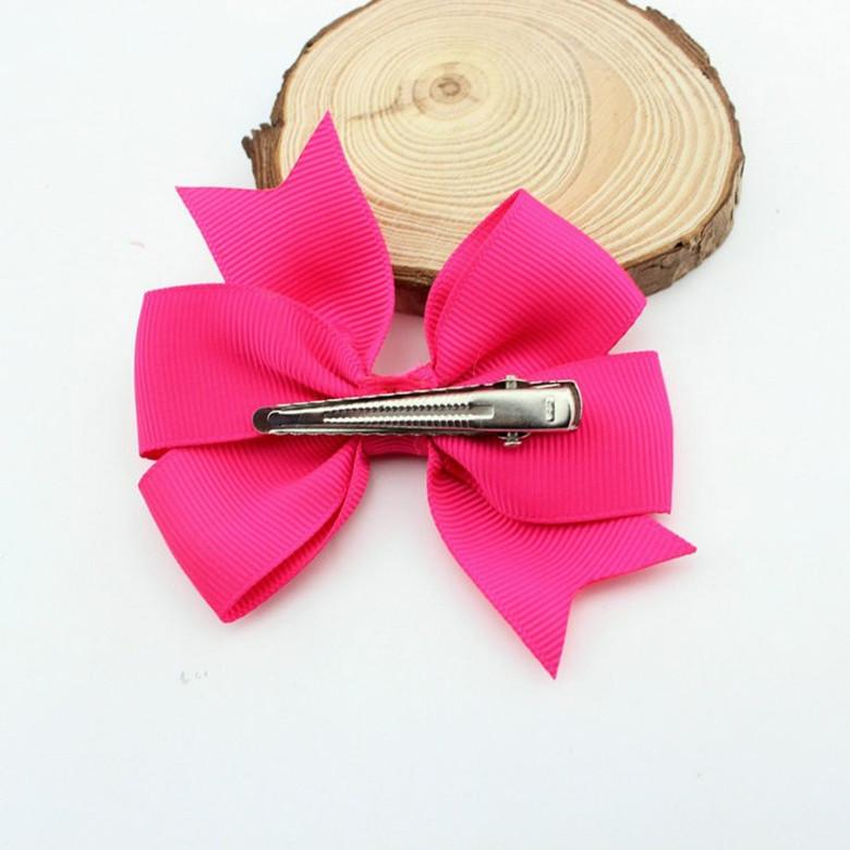 Baby-Kids-Girls-Bow-Hair-Alligator-Clips-Grosgrain-Ribbon-Clip thumbnail 17