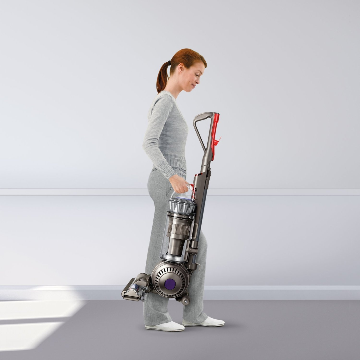 dyson dc41 multi floor upright bagless vacuum: silver, purple, or