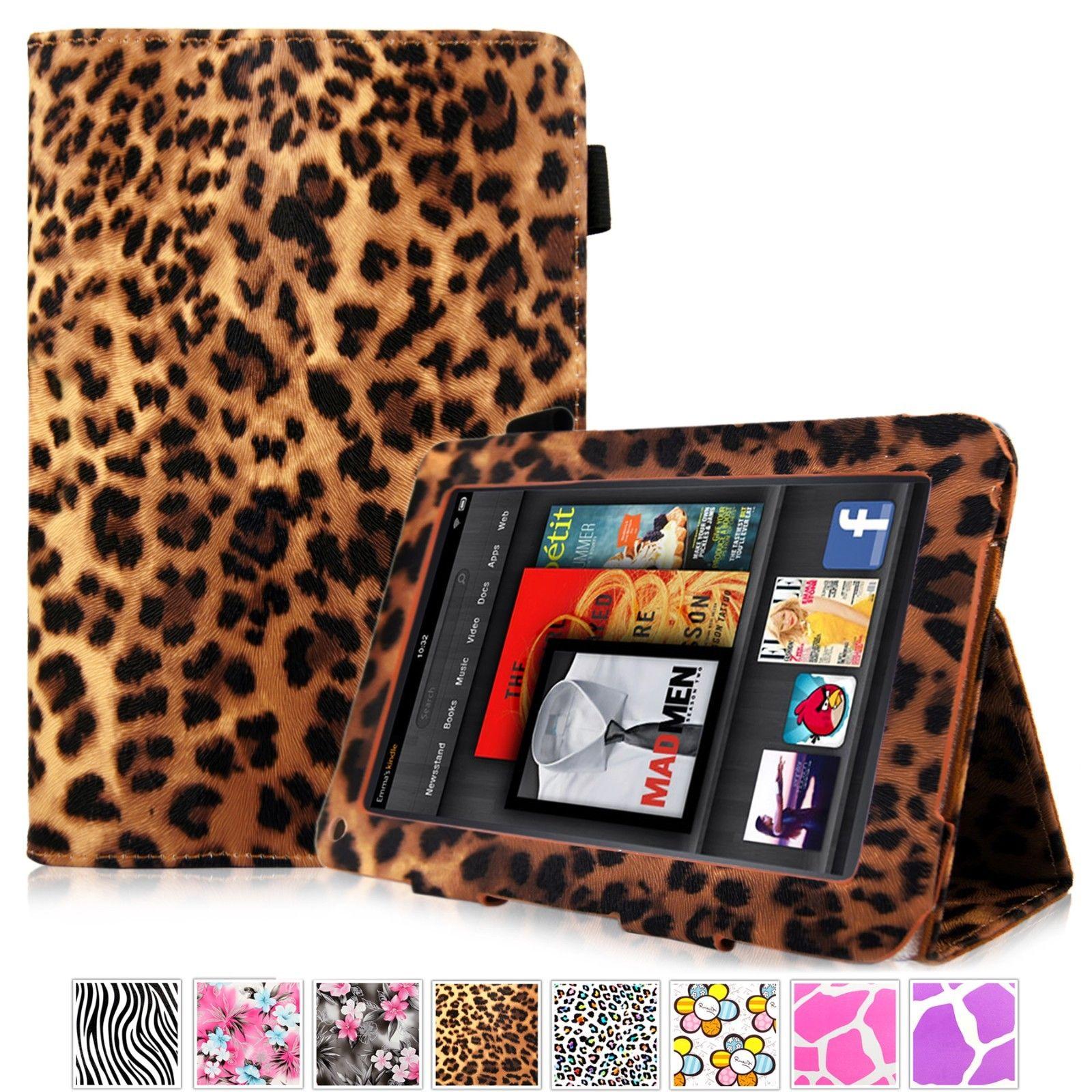 Leather Flip Folio Smart Stand Design Case Cover For ...