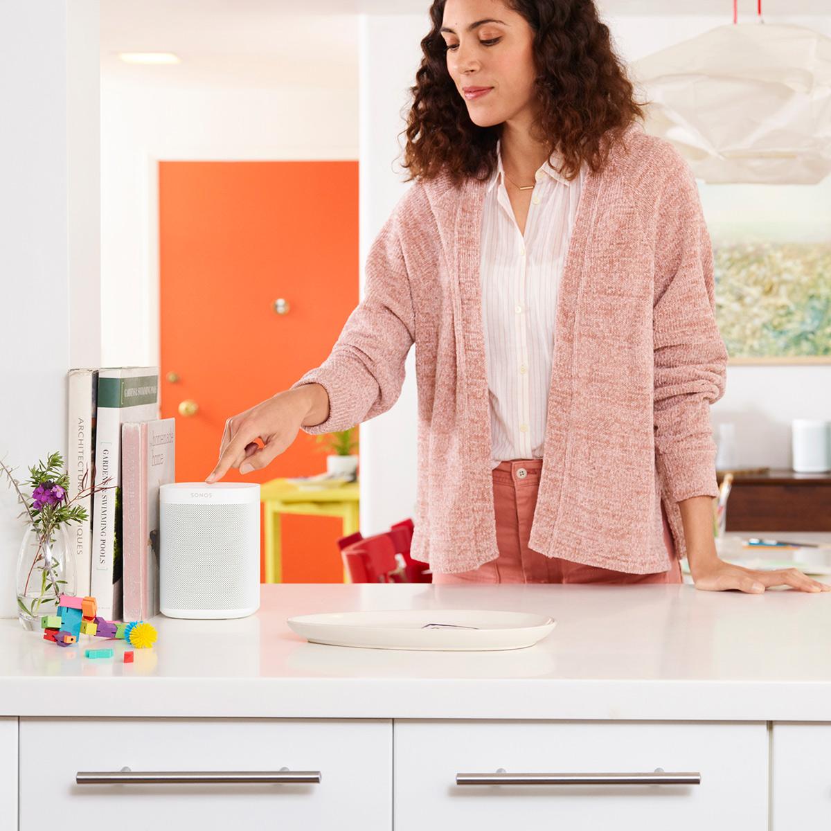 Sonos One Voice-Controlled Wireless Smart Speaker Gen 2