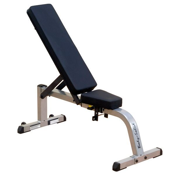 Bodysolid Flat And Incline Weight Bench Body Solid Incline Flat Bench Gfi21 Ebay