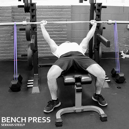 """Serious Steel 41"""" Assisted Pull-Up, Dip Band, Resistance"""