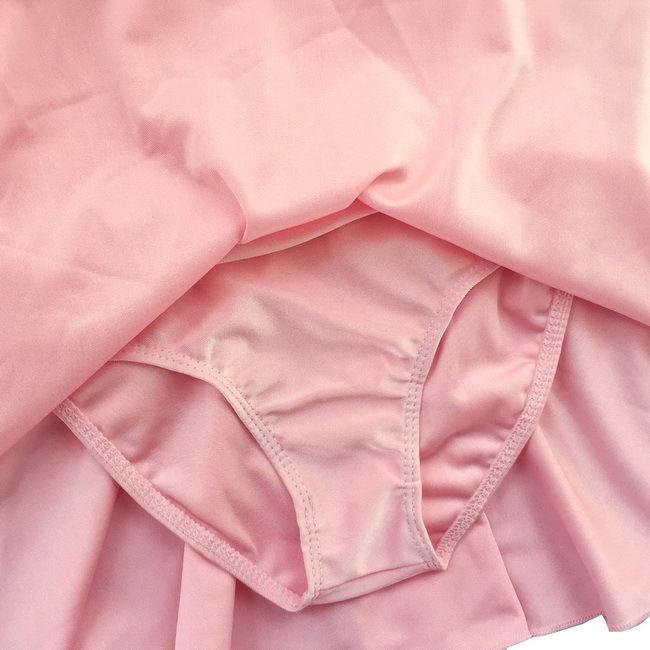 Kid Girl Flutter Ruffle Gymnastics Dance Toddler Ballet Leotard Skirt Tutu 3-14Y