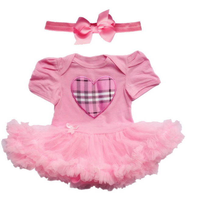 Baby Girl Flower Dress Infant Party Outfits Tutu Skirt Newborn ...