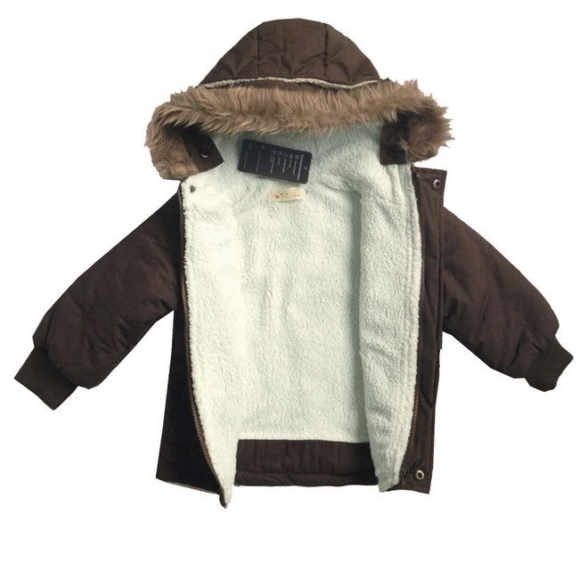 Toddlers Baby Boy Warm Jacket Coats Fleece Snowsuit Winter Outwear