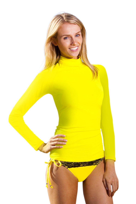 Ingear ladies rash guard shirts made in usa ebay for Womens rash guard shirts