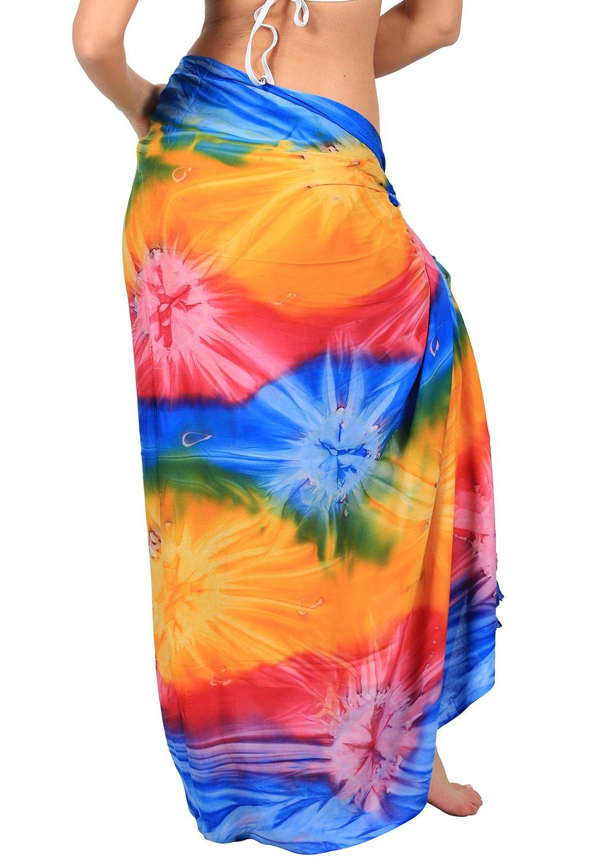 ingear long batik tie dye sarongs. Black Bedroom Furniture Sets. Home Design Ideas