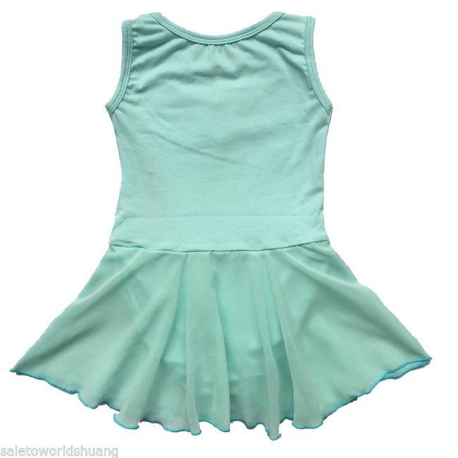 Children Girls Ballet Leotard Tutu Dance Dress Skirt Kid Sz 2-12Y Dancewear New