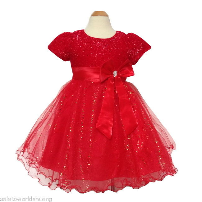 2015 New Toddler Tulle Tutu Flower Girl Wedding Party Bridesmaid Pageant Dresses