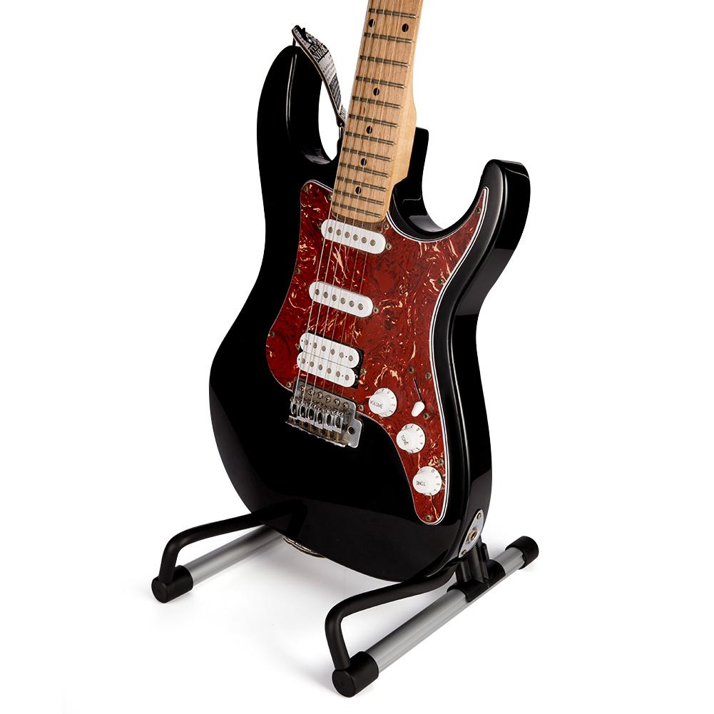 Folding Guitar Floor Stand Holder A Frame Universal Fits