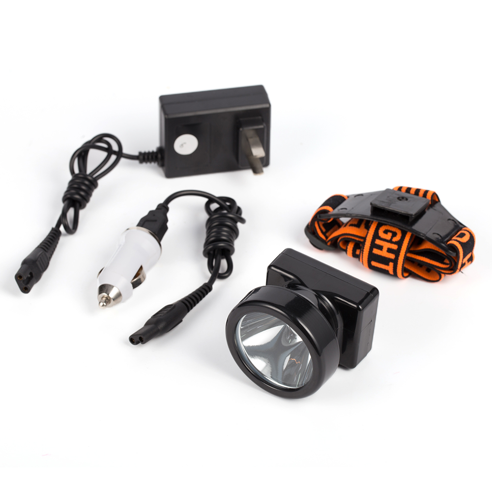 Top 3W KL4.4LM LED Miner Camping Hiking Headlight Cap ...