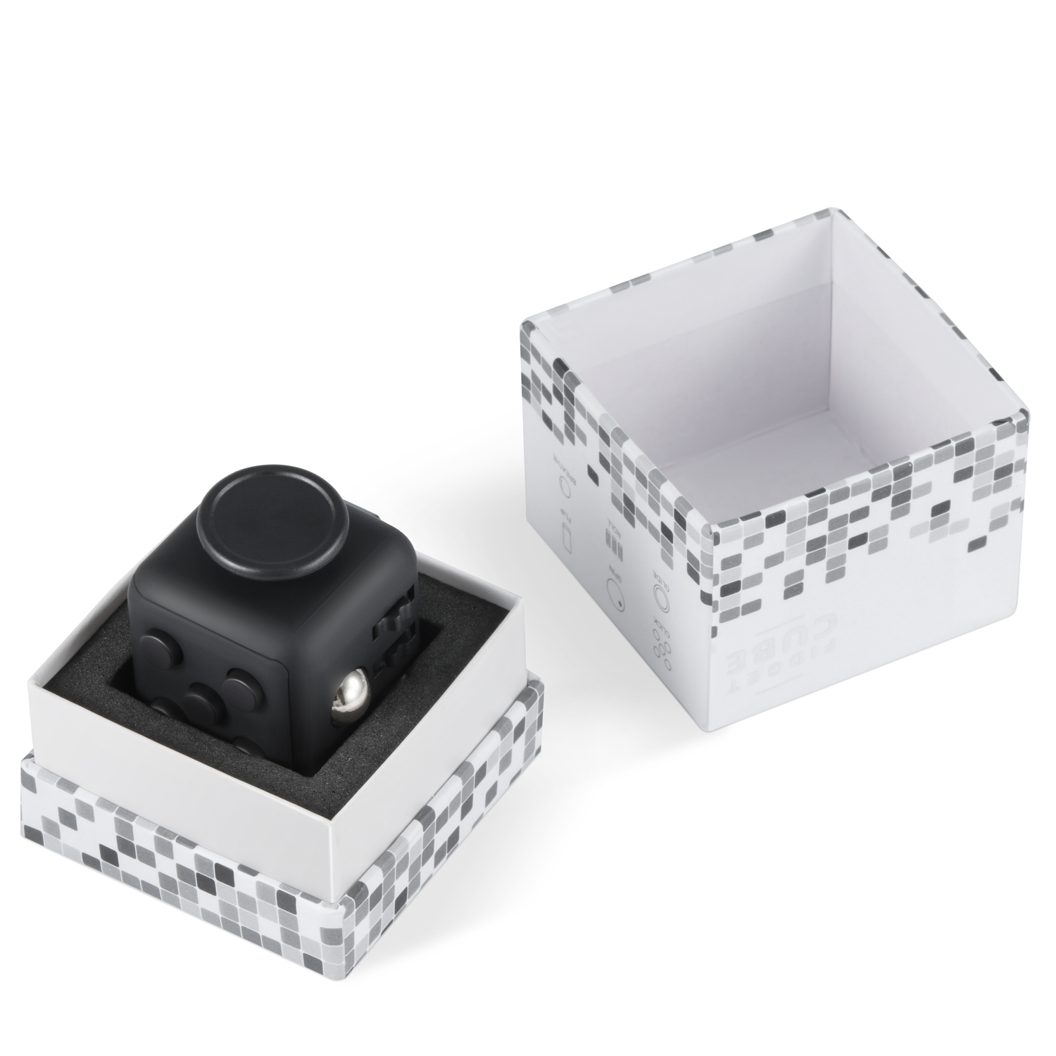 magic original fidget cube xmas children toy adults fun. Black Bedroom Furniture Sets. Home Design Ideas