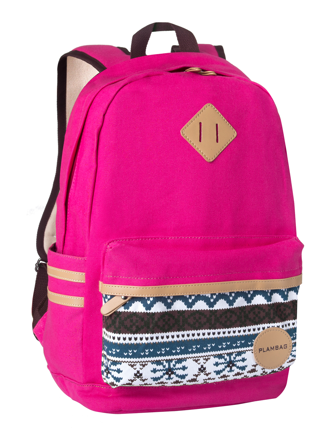 Women Girl Canvas Backpack Rucksack Shoulder Bag Travel School ...