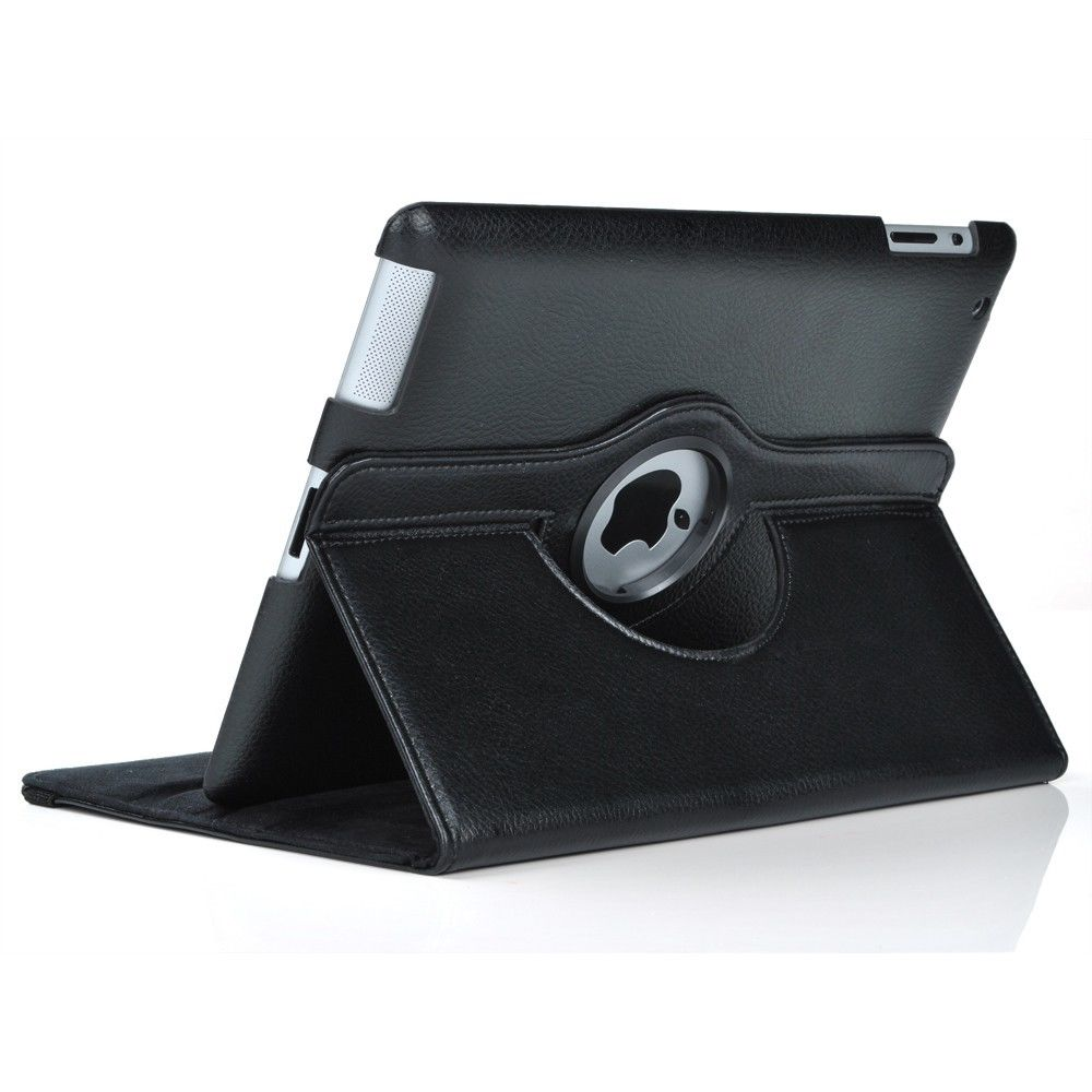 Swivel Rotating Stand Case Cover with Bluetooth Keyboard For Apple iPad 4/3/2