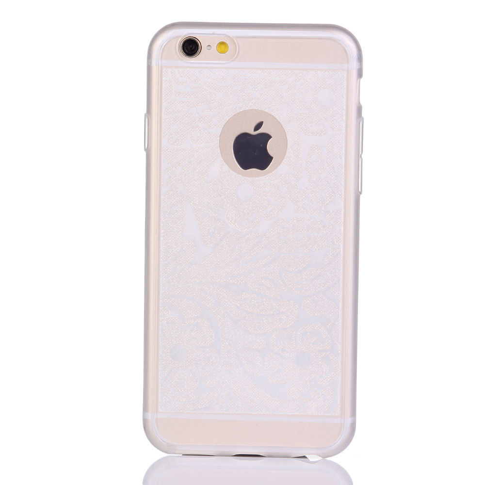 Squishy Iphone 6 Plus Case : Rubber Soft TPU Silicone Phone Back Case Cover for iPhone 6 6S 4.7