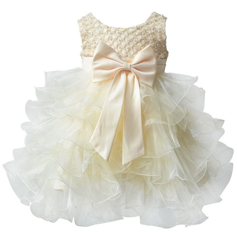 Toddler Baby Princess Tulle Dress Little Girls Party Wedding ...