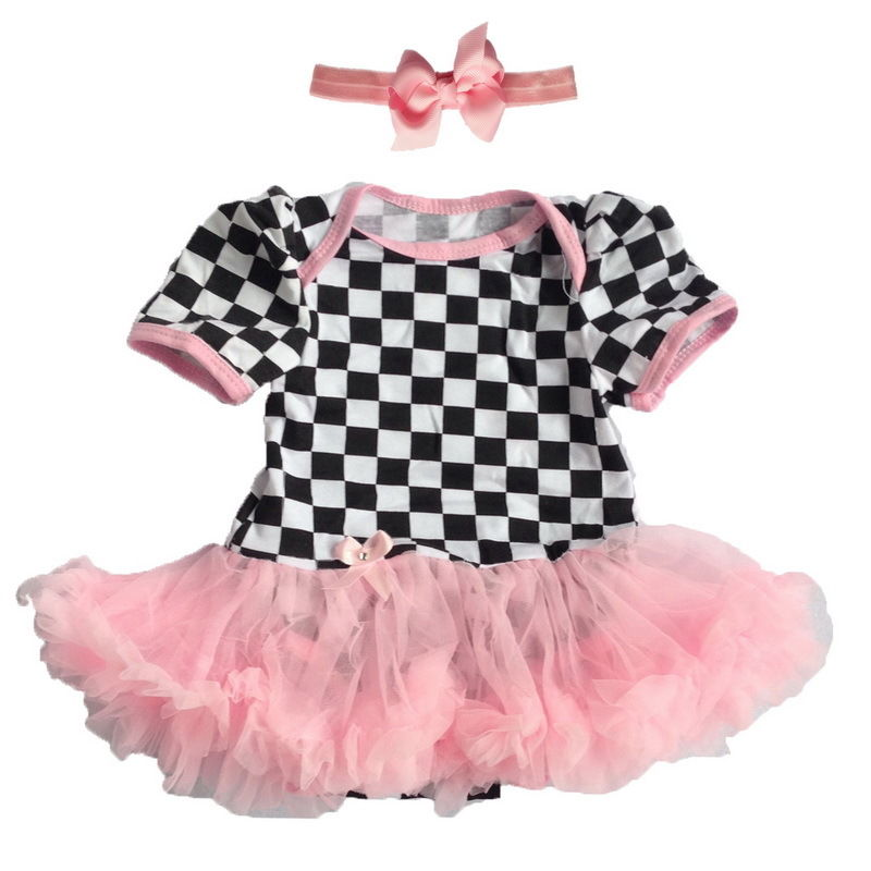 Baby Girl Clothes Dress Minnie Infant Party Outfits Tutu Newborn ...