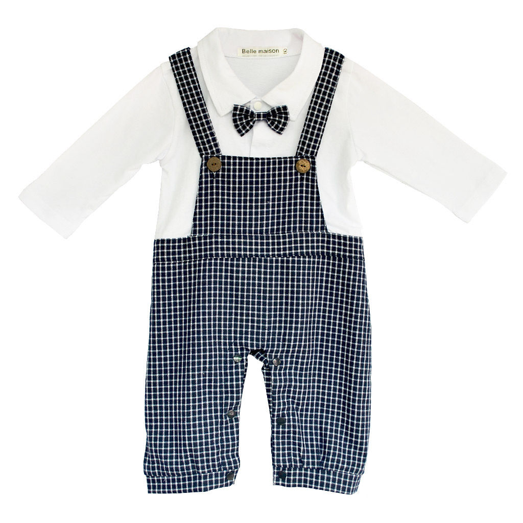 New Boys Baby Formal Suit Romper Pants 0 15M e piece