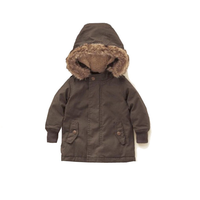 Boy Kid Coat Warm Jacket Thicken Clothes Clothing 3-18M Baby Winter Hooded New