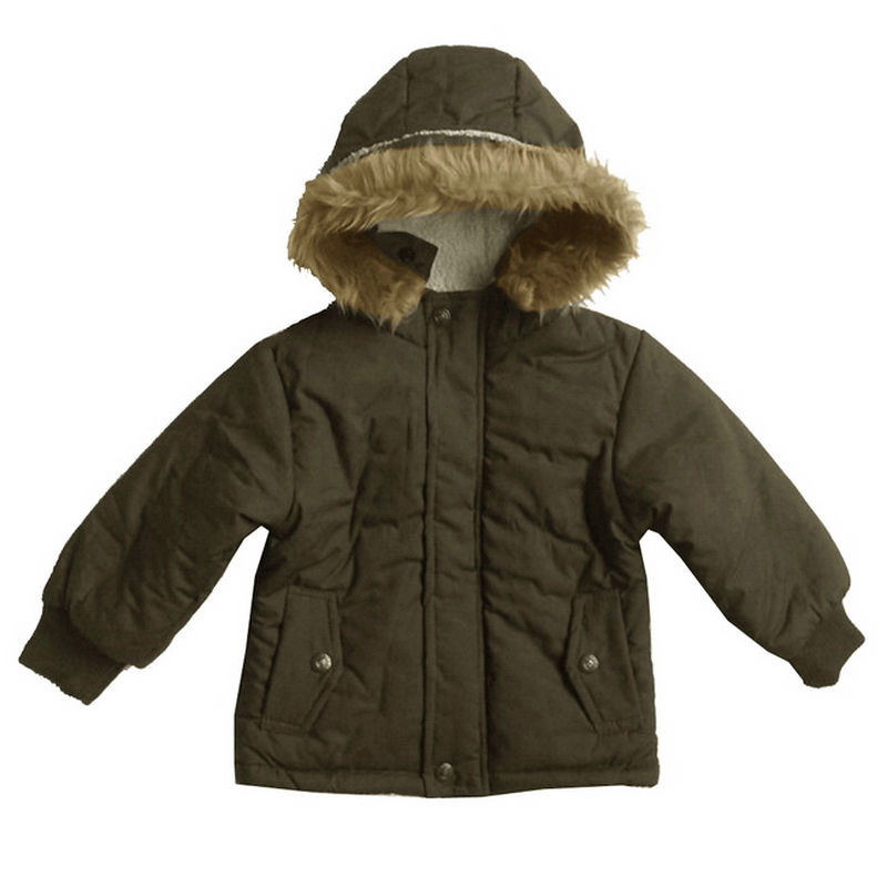 Baby boys' outerwear jackets are a year-round choice. The right jacket guarantees your baby boy's comfort in any forecast. Lightweight materials are suited for warmer months and layers offer warmth when the temperature drops.