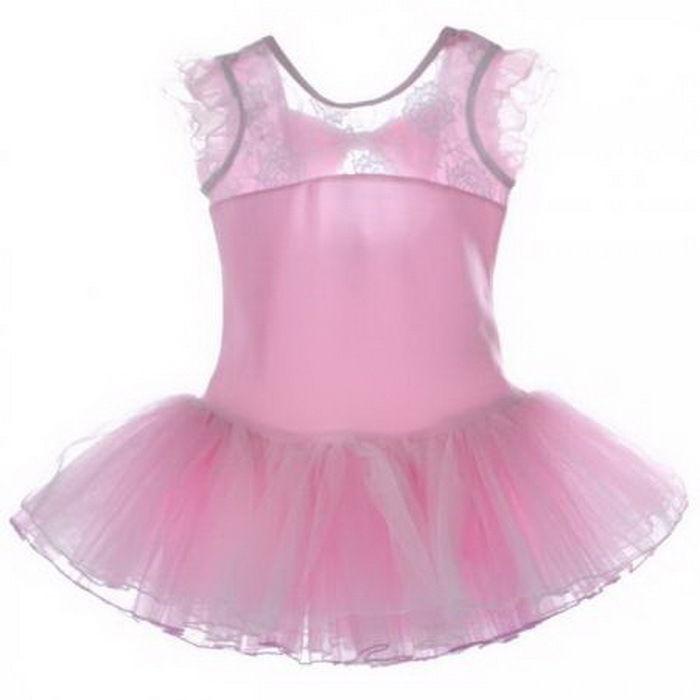 Kinder Mädchen Ballett Kleider Ballettanzug Tanzkleid Tutu Tüllrock Party Kostüm