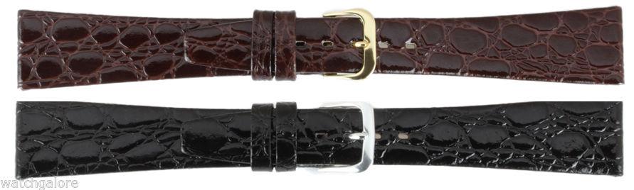 Ladies-Crocodile-Grain-Leather-Watch-Strap-Band