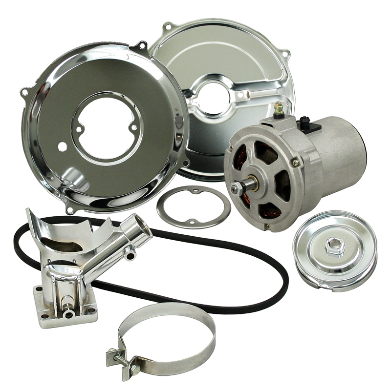 Vw Motor Swap Kits: EMPI 9450 New 55 Amp Alternator Conversion Kit With Pulley