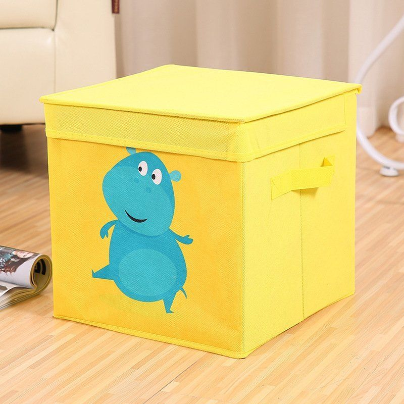 waterproof collapsible large box storage pouch basket storage bins boxes toys ebay. Black Bedroom Furniture Sets. Home Design Ideas