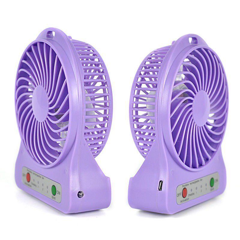 5 Portable Fan : Portable rechargeable usb desk pocket mini fan handheld