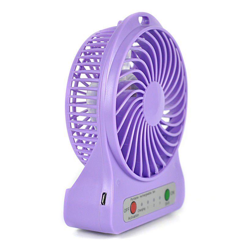 Small Travel Fan : Portable rechargeable usb desk pocket mini fan handheld