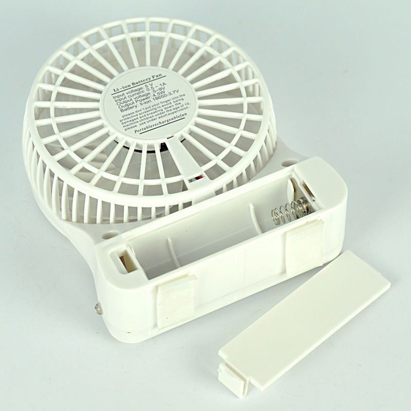 Portable Hand Fan : Portable rechargeable usb desk pocket mini fan handheld