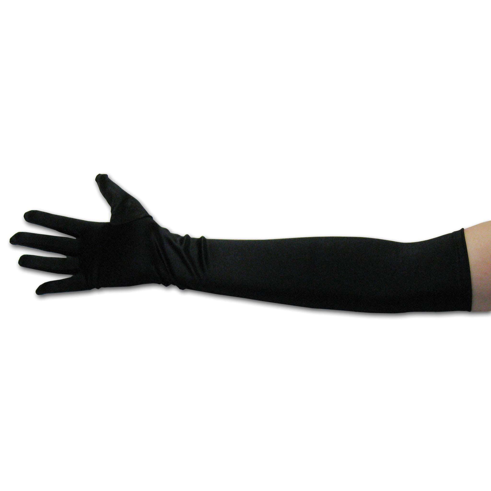 Long black gloves amazon - 22 034 Classic Adult Size Opera Length Satin