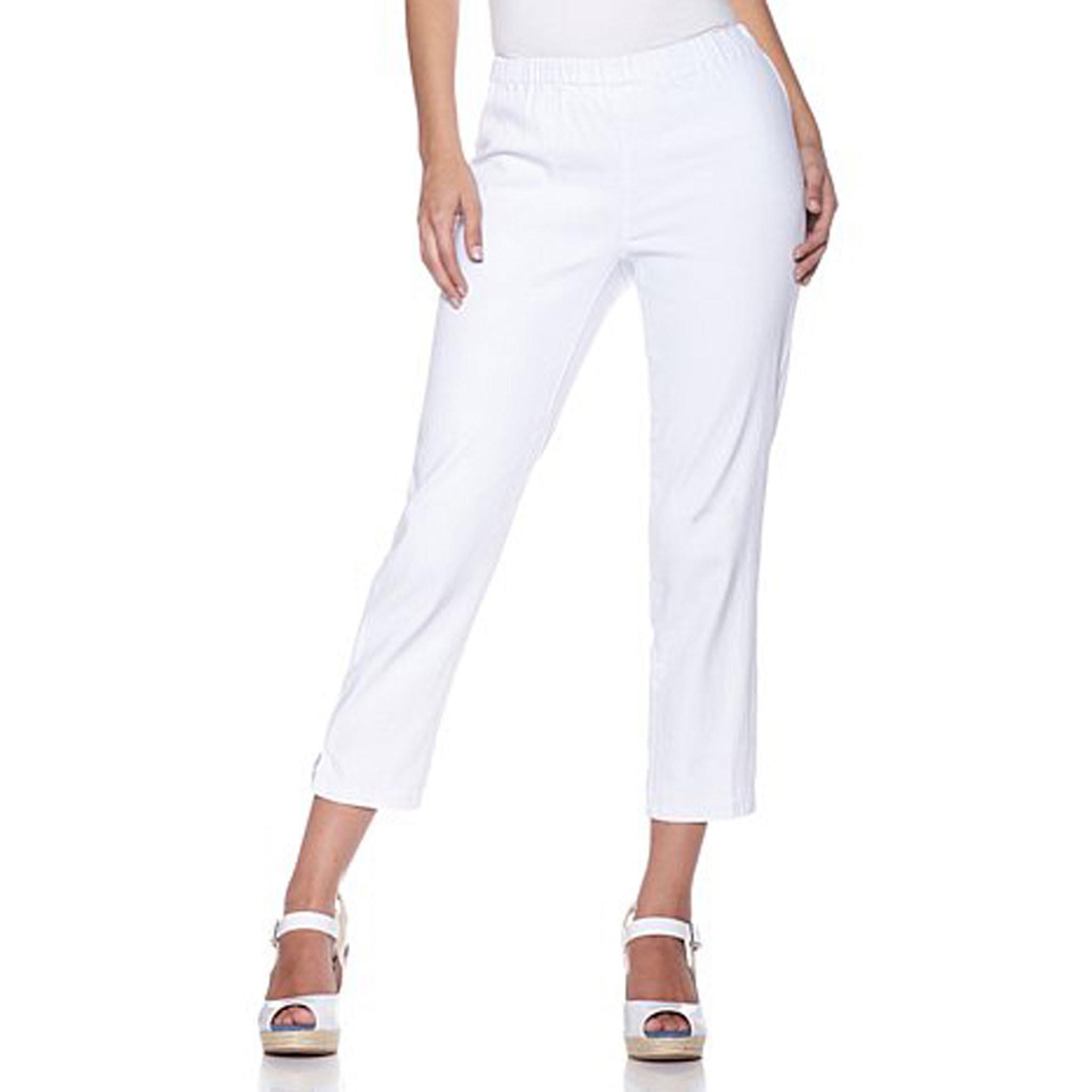 Chic Jegging Capri Pants in Plus Size by Diane Gilman | eBay