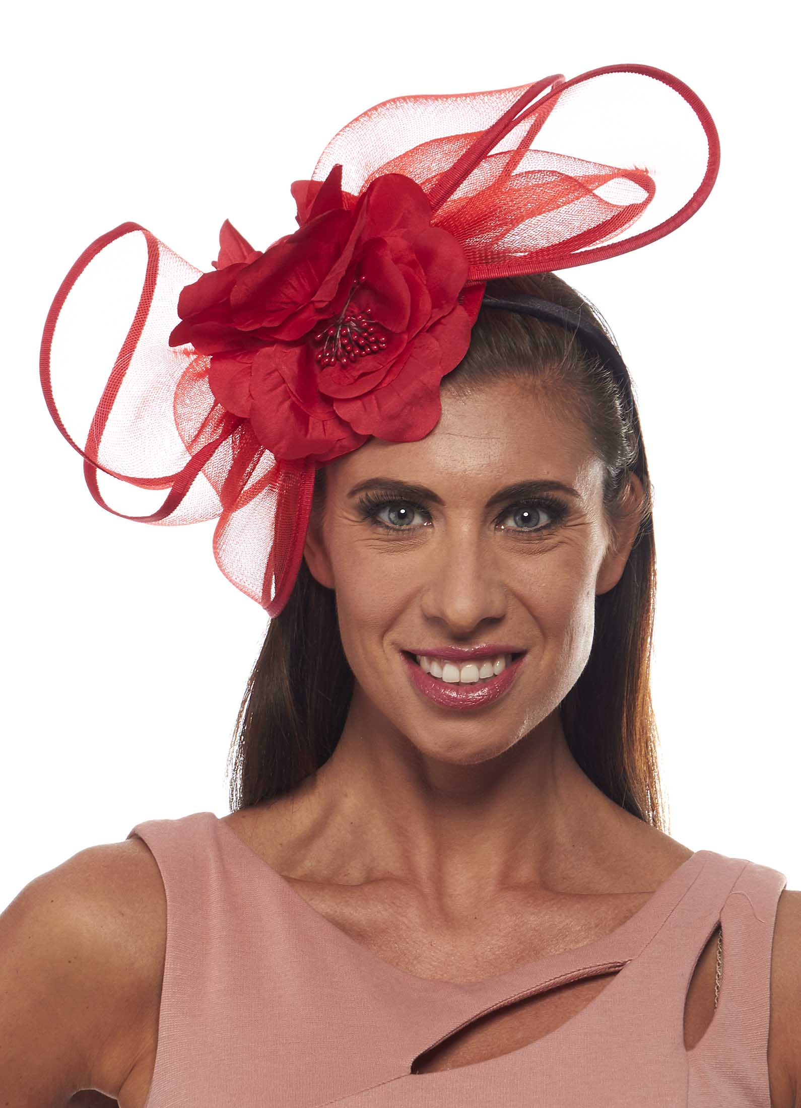 The Scofflaw Fascinator Cocktail Hat with Floral Detail | eBay