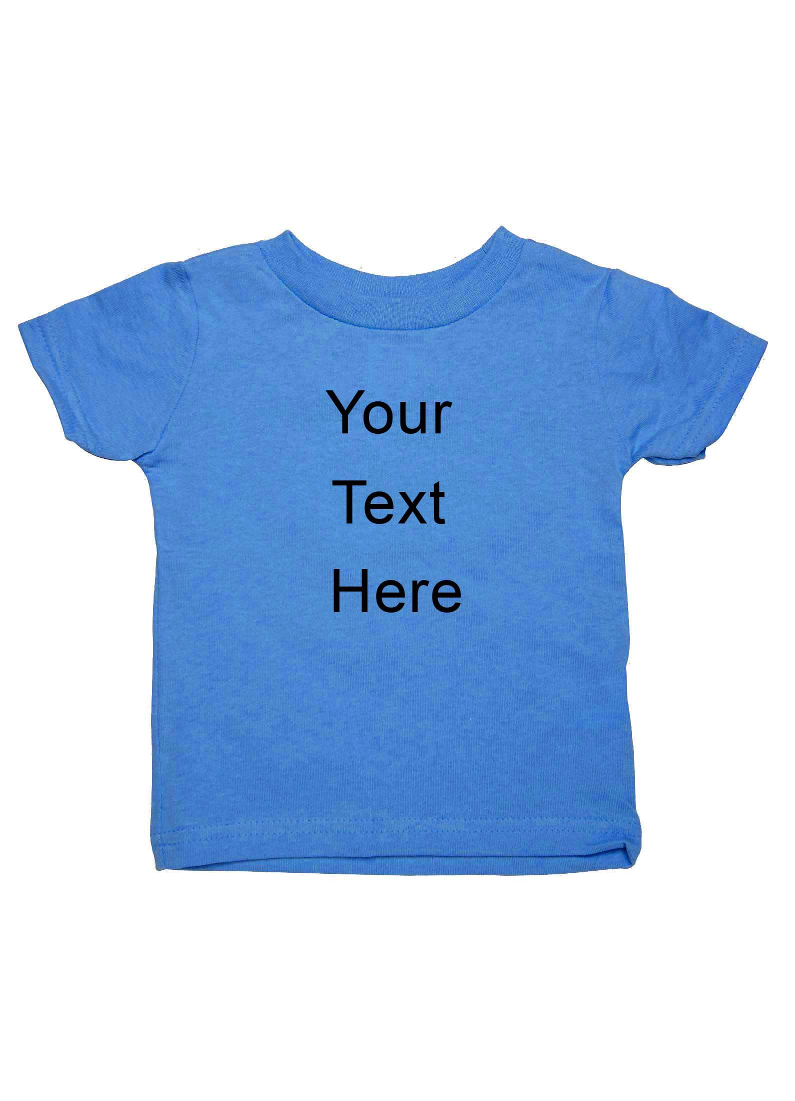 Catchy custom printed personalized t shirt for girls for Custom printed t shirt