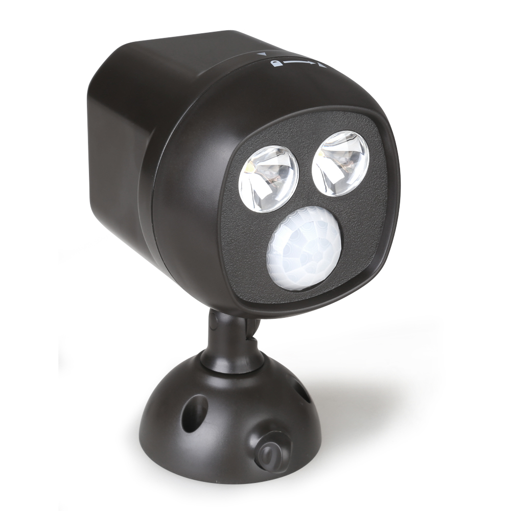 battery operated wireless led spotlight motion sensor. Black Bedroom Furniture Sets. Home Design Ideas