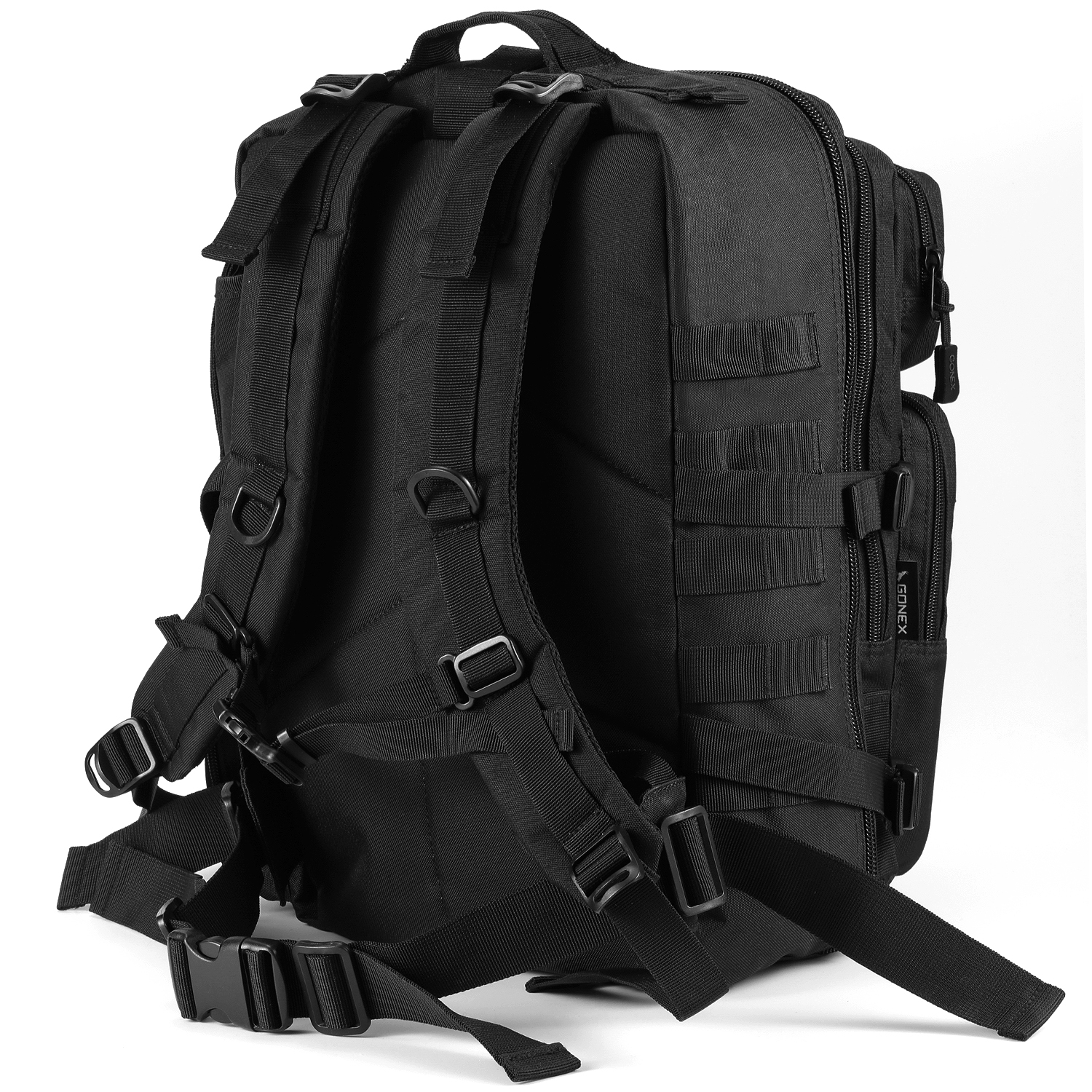 Military Backpack Rucksack Army Bag Black KALIDI MOLLE Assault Backpack 35L