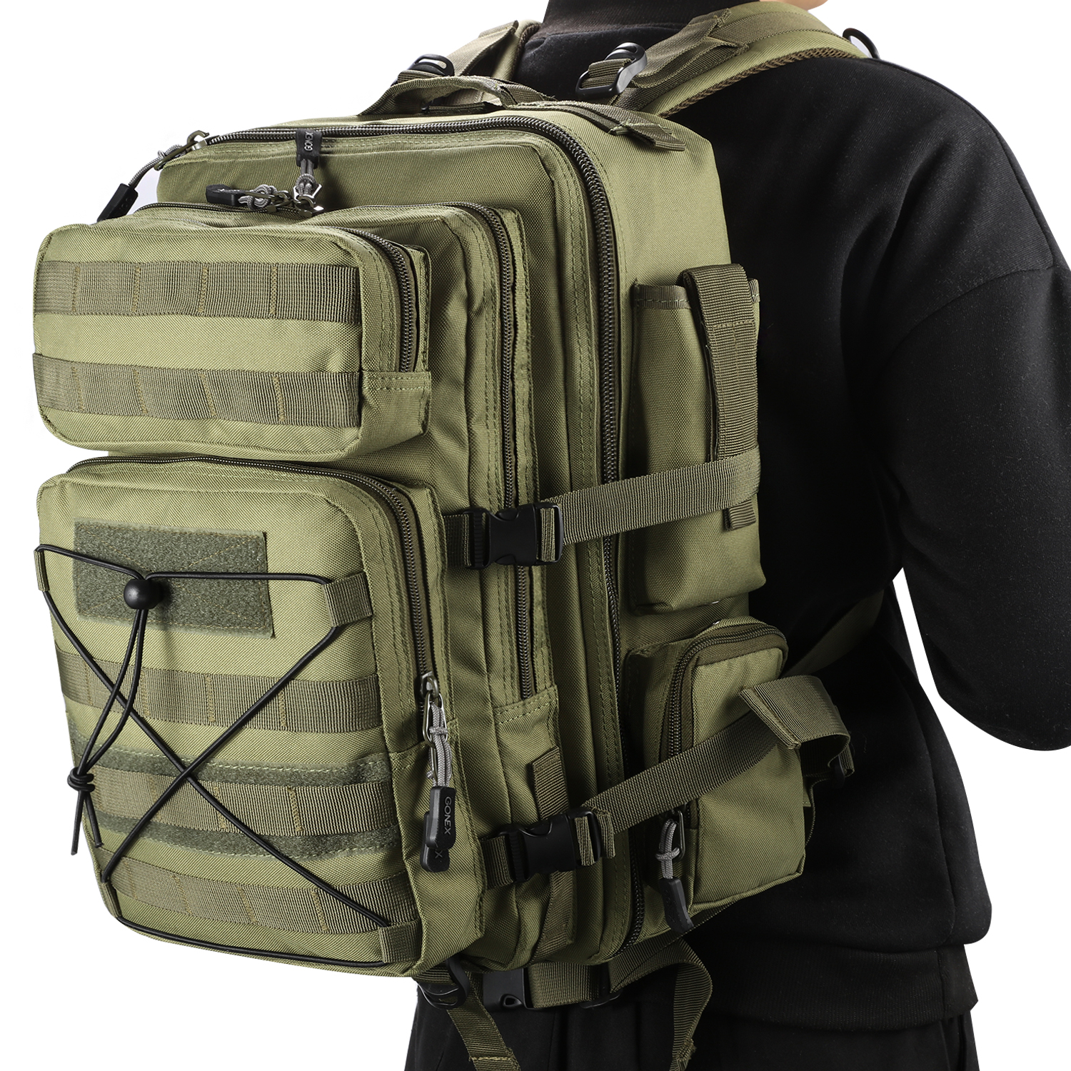 25L Molle Tactical Outdoor Military Assault Backpack Camping Hiking Pack Bag