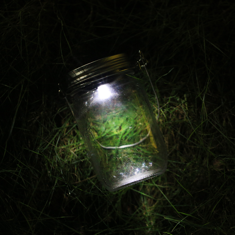 3 pack led fairy light solar mason jar lid insert white. Black Bedroom Furniture Sets. Home Design Ideas