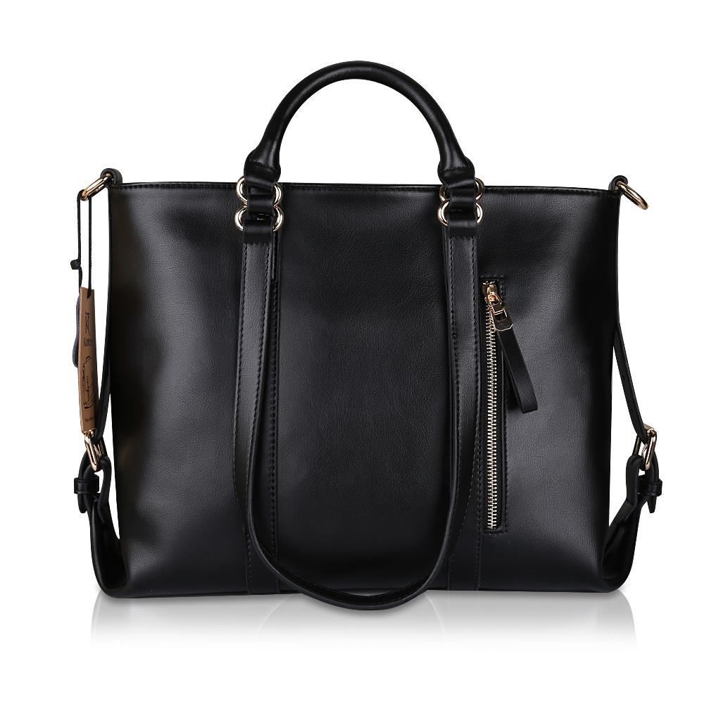 Fashion Women Lady Leather Satchel Handbag Shoulder Tote Messenger ...